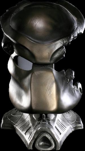 Battle Damaged Classic Predator Mask Prop Replica