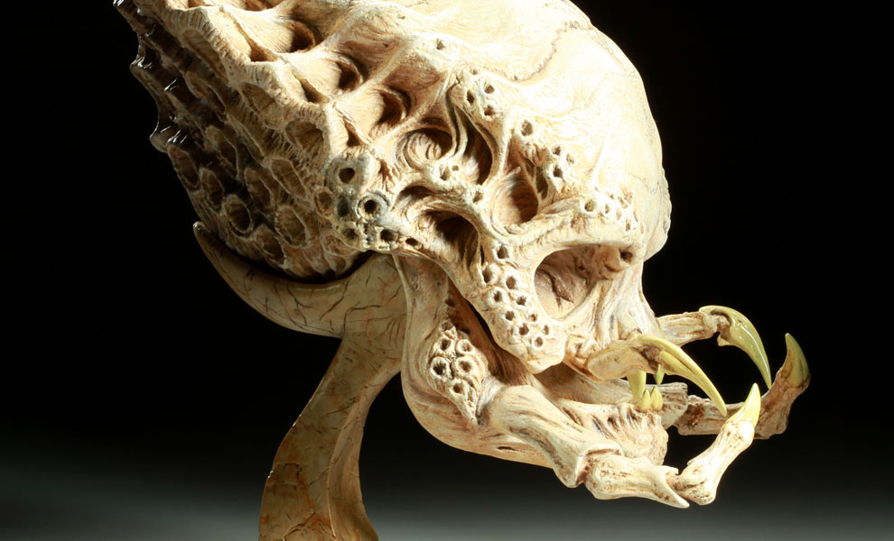 Gallery Feature Image of Classic Predator Skull Prop Replica - Click to open image gallery