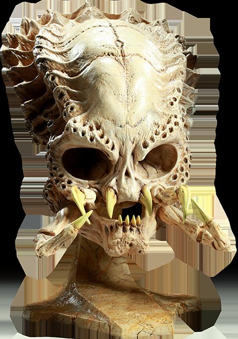Sideshow Collectibles Classic Predator Skull Prop Replica