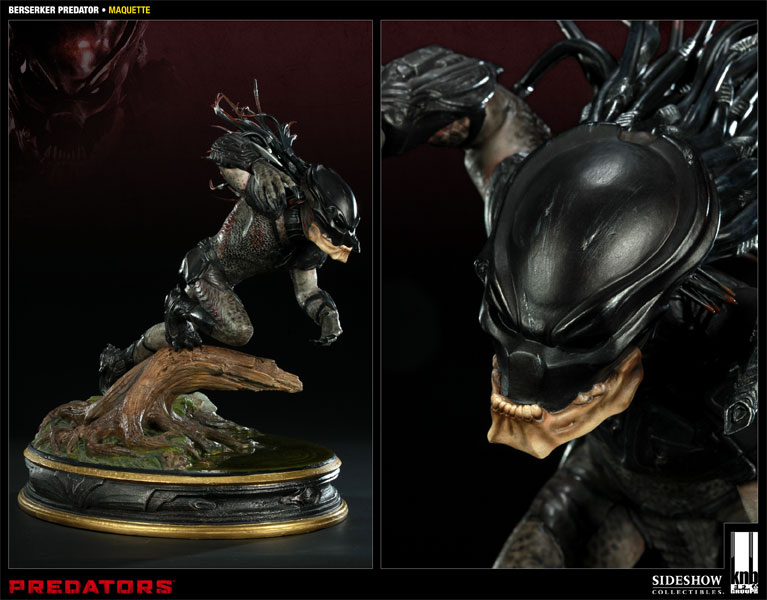 Predator The Berserker Maquette by Sideshow Collectibles