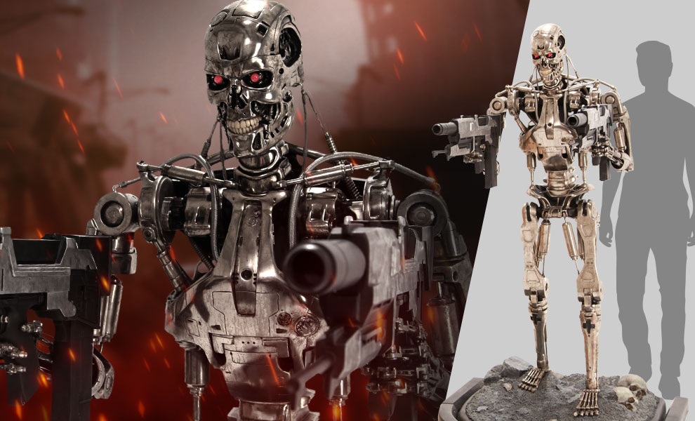 Gallery Feature Image of T-800 Endoskeleton Life-Size Figure - Click to open image gallery
