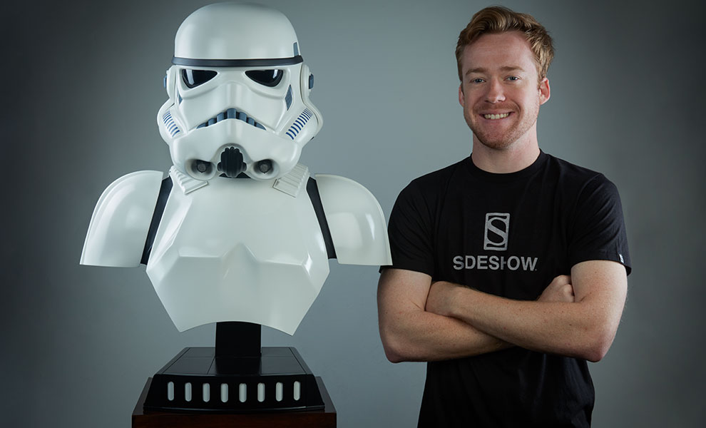 Gallery Feature Image of Stormtrooper Life-Size Bust - Click to open image gallery