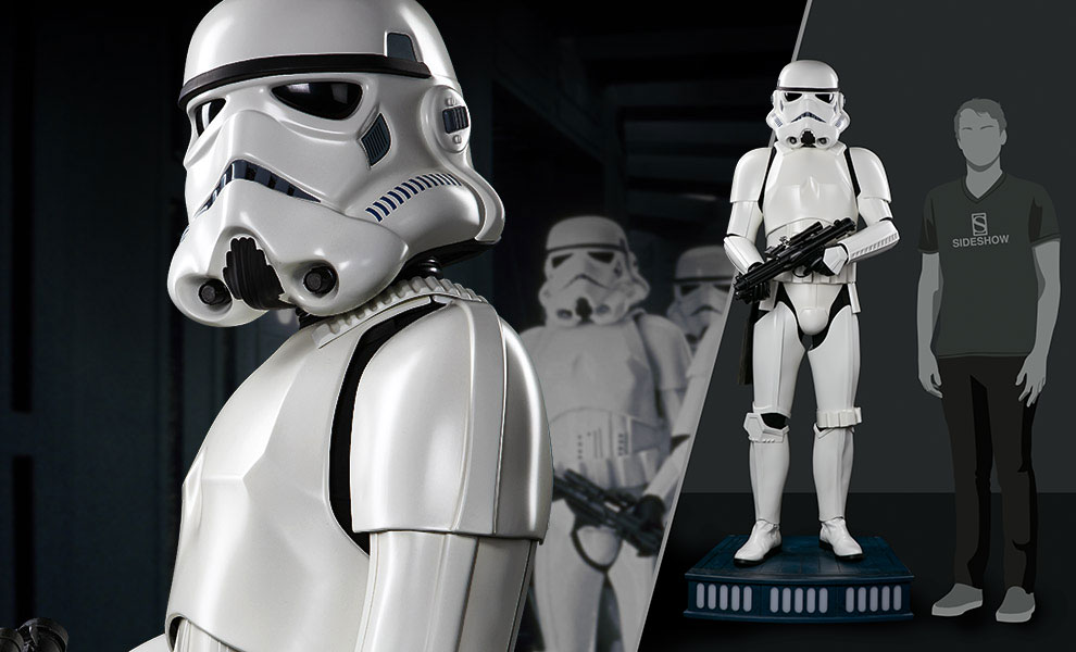 Gallery Feature Image of Stormtrooper Life-Size Figure - Click to open image gallery