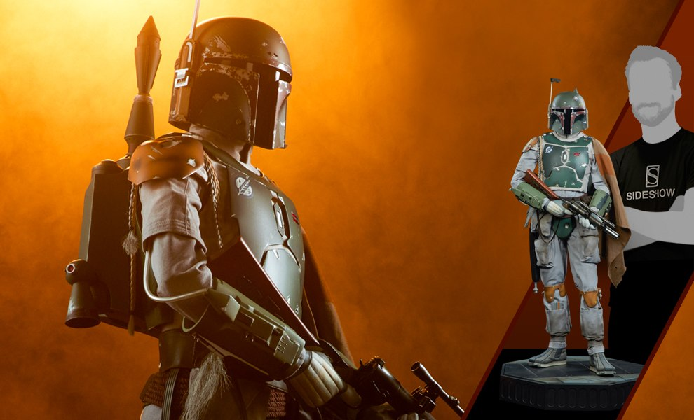 Gallery Feature Image of Boba Fett Legendary Scale™ Figure - Click to open image gallery