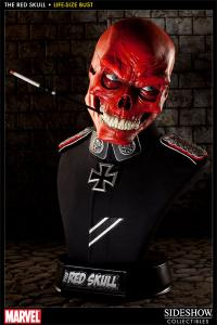 Gallery Image of Red Skull Life-Size Bust