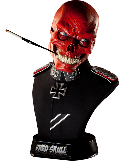 Sideshow Collectibles Red Skull Life-Size Bust