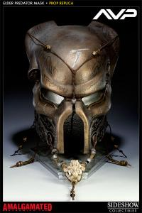 Gallery Image of Elder Predator Ceremonial Mask Prop Replica