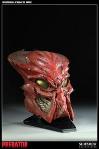 Gallery Image of Ceremonial Predator Mask Prop Replica