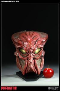 Gallery Image of Ceremonial Predator Mask Prop Replica