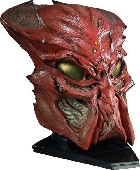 Sideshow Collectibles Ceremonial Predator Mask Prop Replica