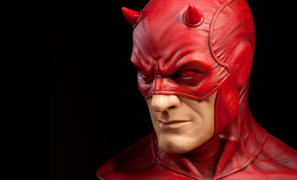 Gallery Feature Image of Daredevil Life-Size Bust - Click to open image gallery