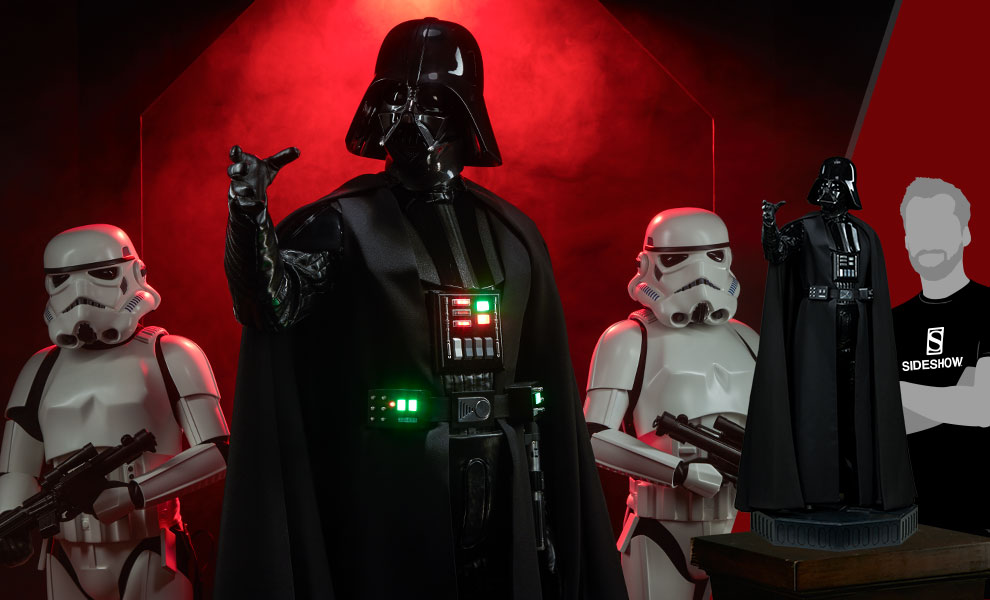 Gallery Feature Image of Darth Vader Legendary Scale™ Figure - Click to open image gallery