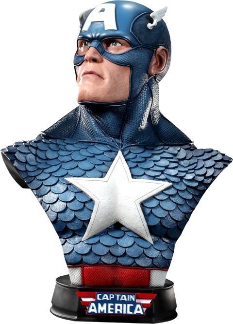 Sideshow Collectibles Captain America Life-Size Bust