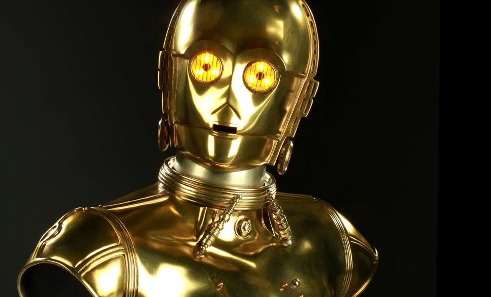 Gallery Feature Image of C-3PO Life-Size Bust - Click to open image gallery