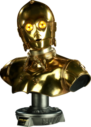 C-3PO Life-Size Bust