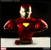Gallery Image of Invincible Iron Man Life-Size Bust