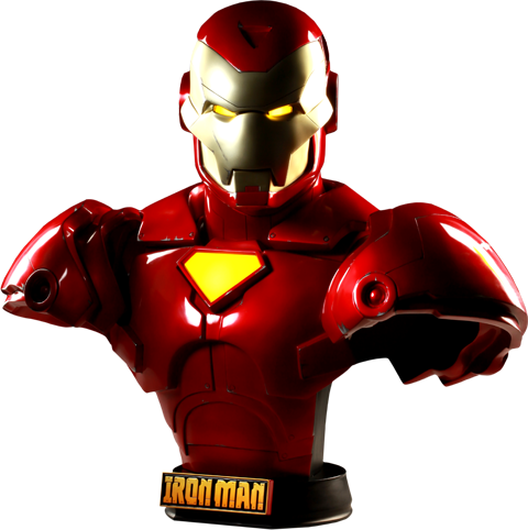 Sideshow Collectibles Invincible Iron Man Life-Size Bust