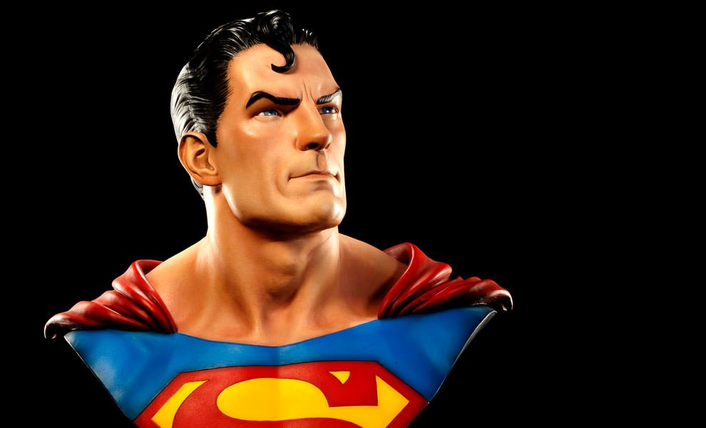 Gallery Feature Image of Superman Life-Size Bust - Click to open image gallery