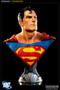Gallery Image of Superman Life-Size Bust
