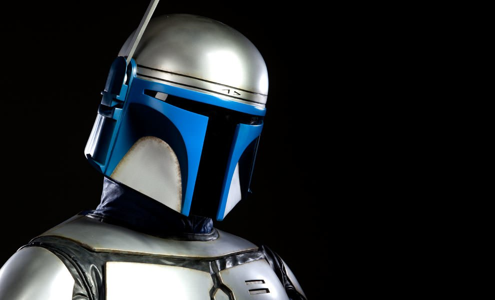 Gallery Feature Image of Jango Fett Life-Size Bust - Click to open image gallery