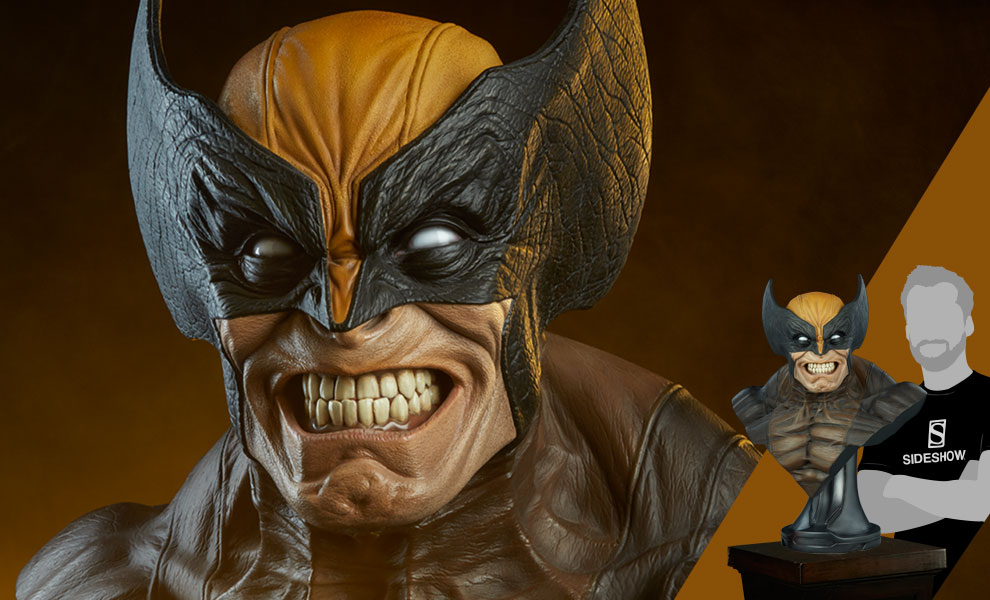 Gallery Feature Image of Wolverine Life-Size Bust - Click to open image gallery