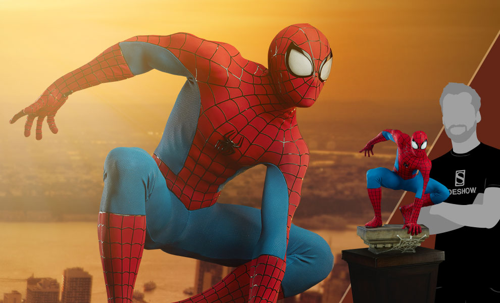 Gallery Feature Image of Spider-Man Legendary Scale™ Figure - Click to open image gallery