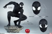 Gallery Image of Spider-Man (Black Suit Variant) Legendary Scale™ Figure
