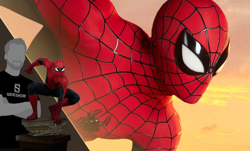 Gallery Feature Image of Spider-Man 'Vintage' Legendary Scale™ Figure - Click to open image gallery