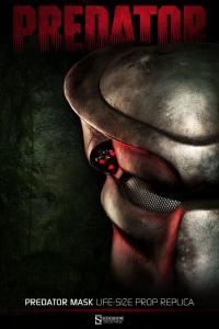 Gallery Image of Predator Mask Prop Replica