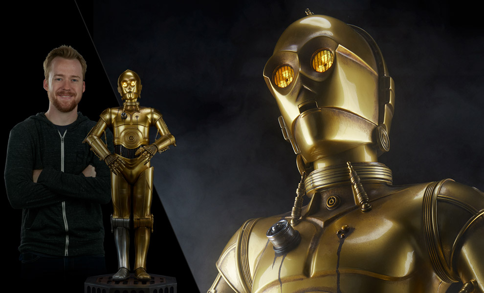 Gallery Feature Image of C-3PO Legendary Scale™ Figure - Click to open image gallery