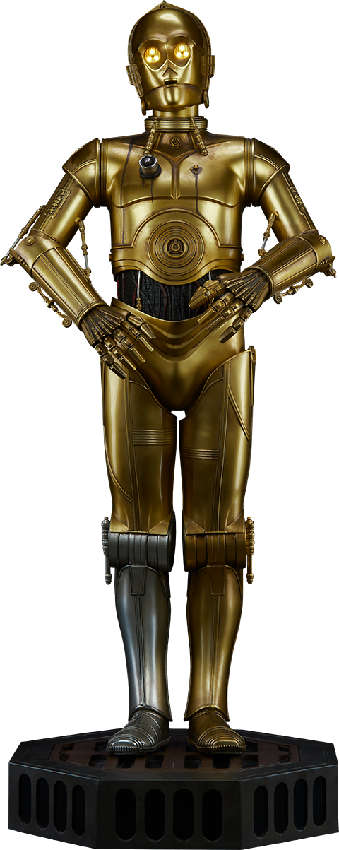 Sideshow Collectibles C-3PO Legendary Scale™ Figure