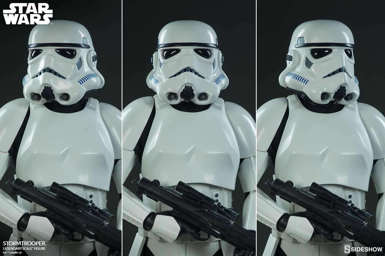 Star Wars Stormtrooper Legendary Scale(TM) Figure by Sidesho  9f0956f77d