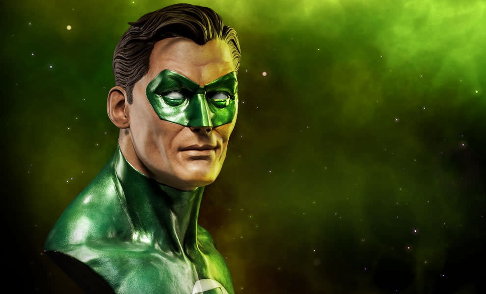 Gallery Feature Image of Green Lantern Life-Size Bust - Click to open image gallery