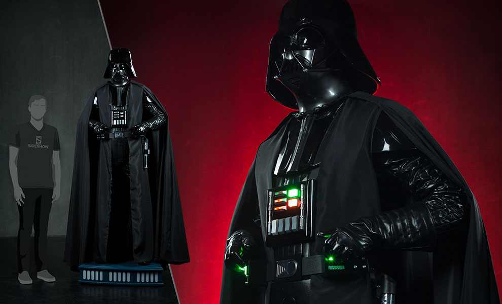 Gallery Feature Image of Darth Vader Life-Size Figure - Click to open image gallery