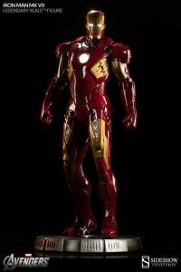 Gallery Image of Iron Man Mark VII Legendary Scale™ Figure