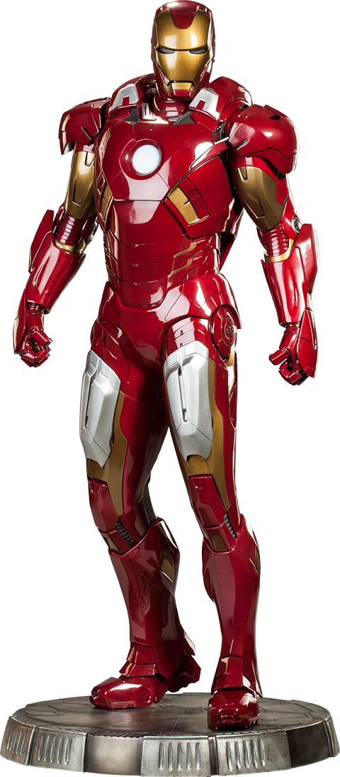Sideshow Collectibles Iron Man Mark VII Legendary Scale™ Figure