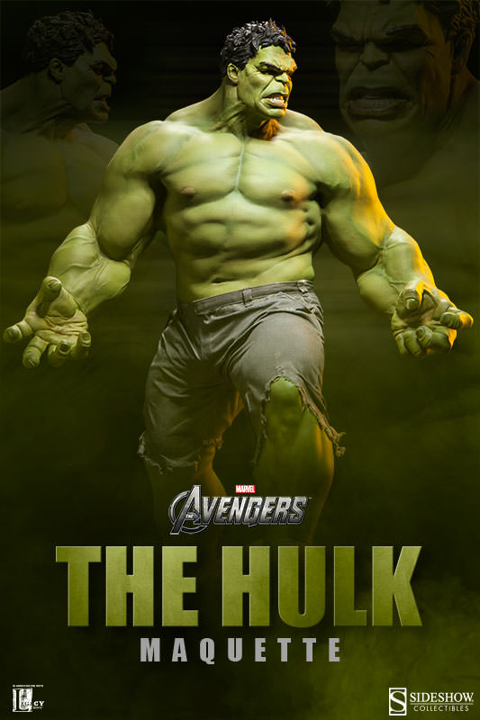 Marvel Hulk Maquette By Sideshow Collectibles
