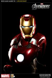 Gallery Image of Iron Man Mark VII Life-Size Bust