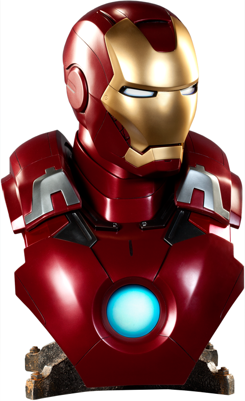 Sideshow Collectibles Iron Man Mark VII Life-Size Bust