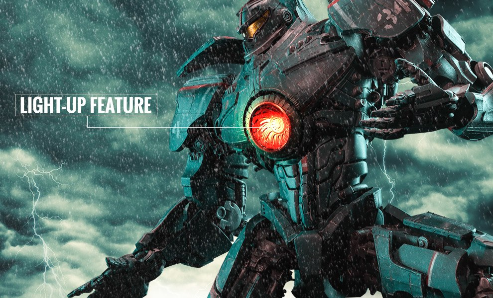 Gallery Feature Image of Gipsy Danger: Pacific Rim Statue - Click to open image gallery
