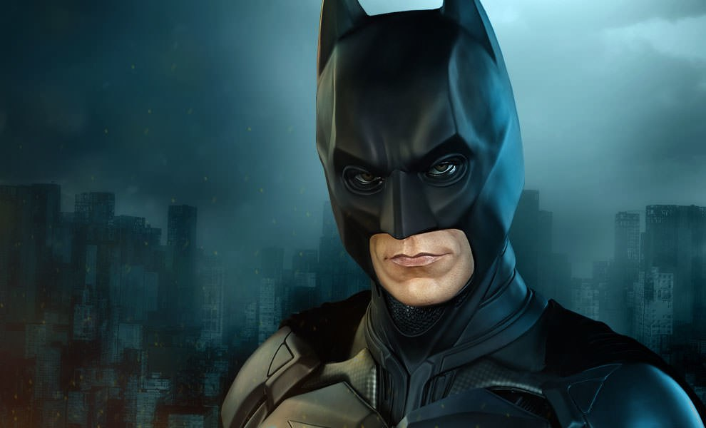 Gallery Feature Image of Batman The Dark Knight Life-Size Bust - Click to open image gallery