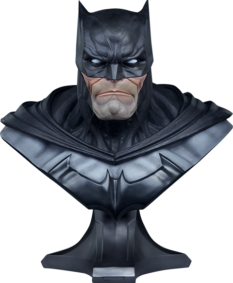 Ever Wonder Where That Iconic Bust Of >> Batman Life Size Bust By Sideshow Collectibles Sideshow Collectibles