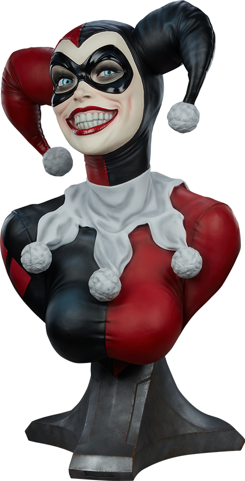 Sideshow Collectibles Harley Quinn Life-Size Bust