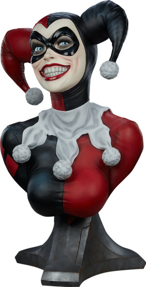 Harley Quinn Life-Size Bust