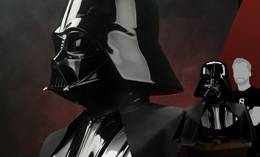 Gallery Feature Image of Darth Vader Life-Size Bust - Click to open image gallery