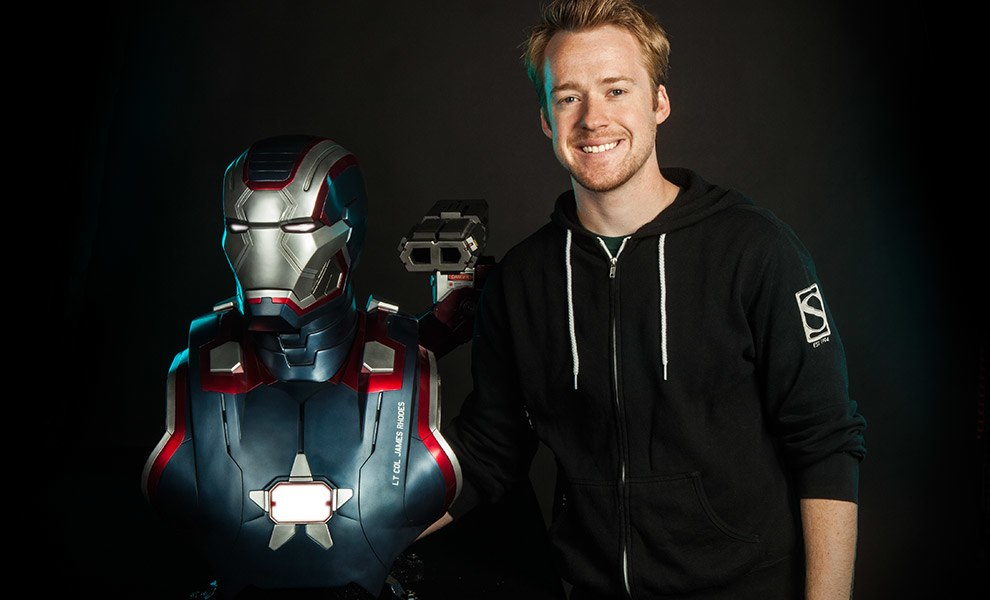Gallery Feature Image of Iron Patriot Life-Size Bust - Click to open image gallery