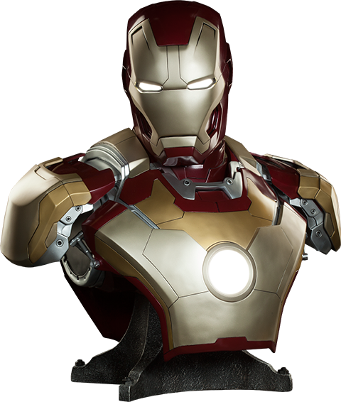 Sideshow Collectibles Iron Man Mark 42 Life-Size Bust