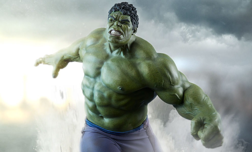 Gallery Feature Image of Hulk Maquette - Click to open image gallery