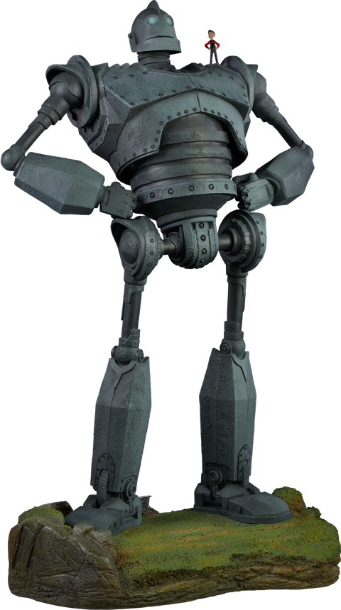 Sideshow Collectibles The Iron Giant - Cel Shaded Variant Maquette
