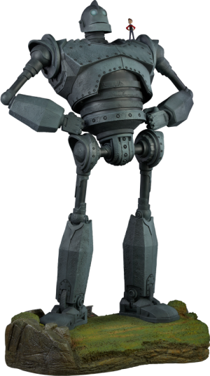 The Iron Giant - Cel Shaded Variant Maquette